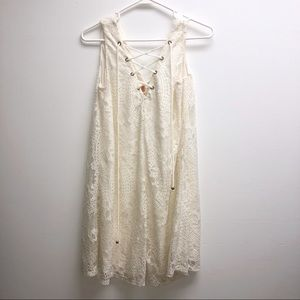 altar'd state dress lace up Small White Lace
